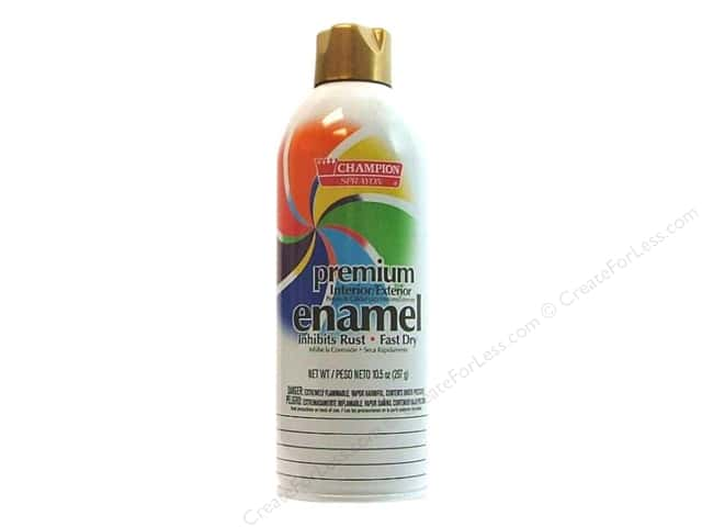 Chase Champion Premium Enamel Spray Paint 10.5 oz. Gold Metallic