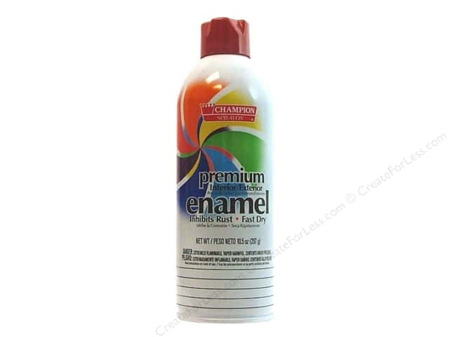 Chase Champion Premium Enamel Spray Paint 10.5 oz. Gloss Deep Red