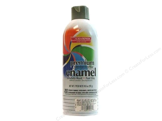 Chase Champion Premium Enamel Spray Paint 10.5 oz. Gloss Medium Grey