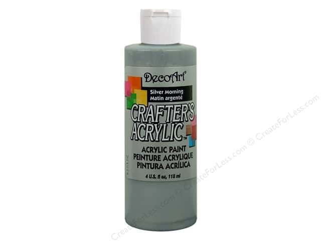 DecoArt Crafter's Acrylic Paint 4 oz. #DCA95 Silver Morning