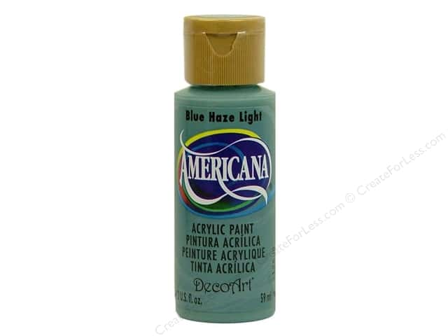 DecoArt Americana Acrylic Paint 2 oz. #279 Blue Haze Light