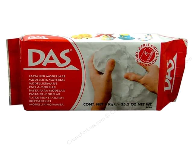 DAS Air-Hardening Clay 2.2 lb. White
