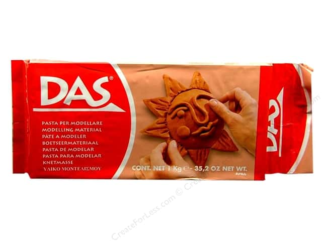 DAS Air-Hardening Clay 2.2 lb. Terracotta