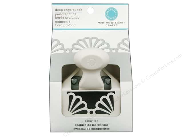 Martha Stewart Deep Edger Punch Daisy Fan