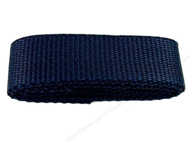 "PA Essentials Polypropylene Webbing 1""x 36"" Package Navy"
