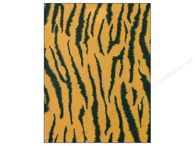 CPE Printed Felt 9 x 12 in. Tiger (12 sheets)