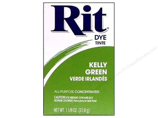 Rit Dye Powder 1 1/8 oz. Kelly Green
