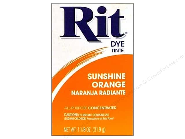 Rit Dye Powder 1 1/8 oz. Sunshine Orange