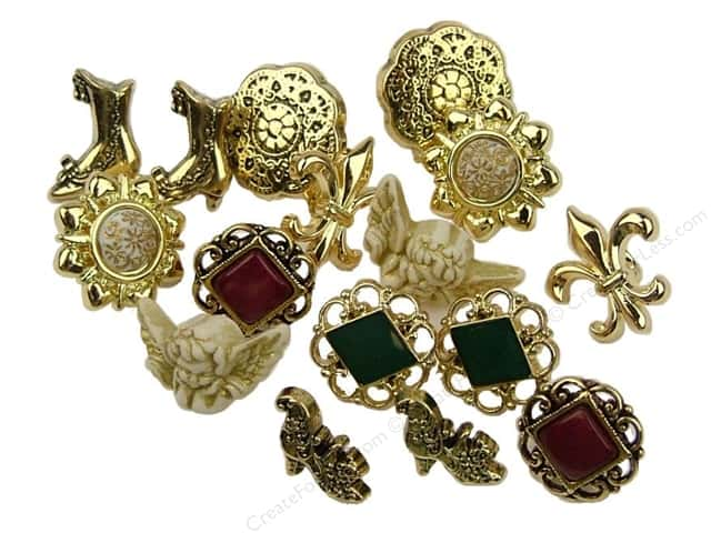 Jesse James Dress It Up Embellishments Victorian Miniatures