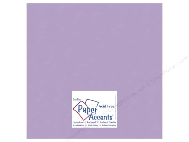 Cardstock 12 x 12 in. #10119 Stash Builder Hydrangea by Paper Accents (25 sheets)