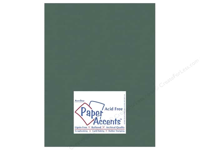 Cardstock 8 1/2 x 11 in. #10109 Stash Builder Fern by Paper Accents (25 sheets)