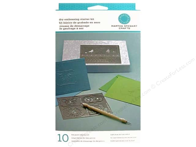Martha Stewart Embossing Dry Starter Kit