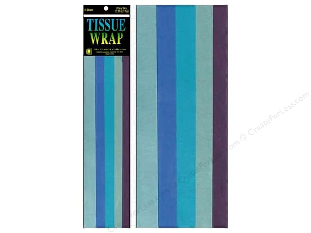 Tissue Paper by Cindus 20 x 20 in. Blue Mix 10 pc.