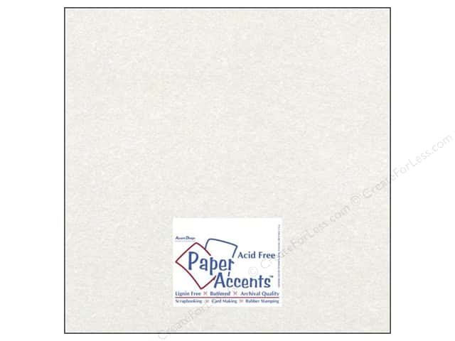 Paper Accents Cardstock 12 x 12 in. #843 Silk Alabaster (25 sheets)