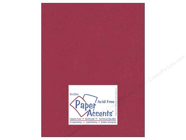 Paper Accents Cardstock 8 1/2 x 11 in. #836 Silk Raspberry Fizz (25 sheets)