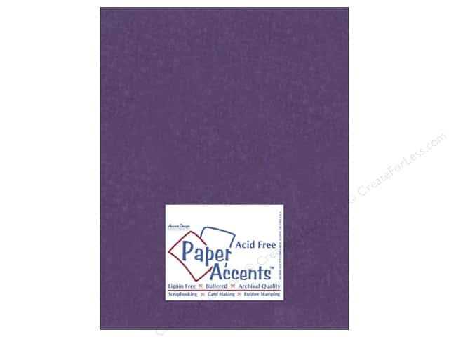 Paper Accents Cardstock 8 1/2 x 11 in. #840 Silk Plush Purple (25 sheets)