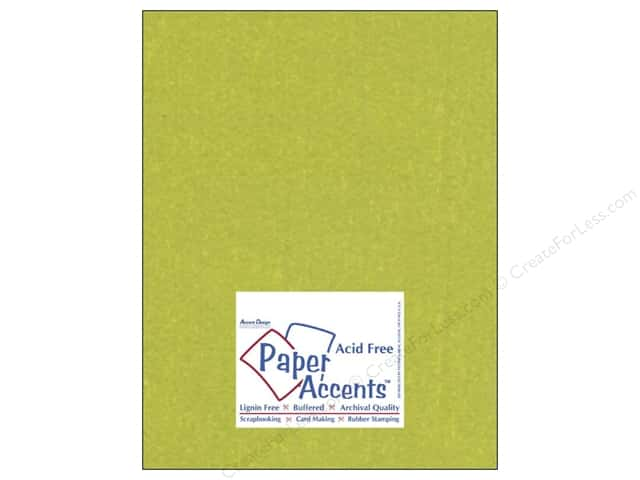 Paper Accents Cardstock 8 1/2 x 11 in. #841 Silk Luscious Lime (25 sheets)