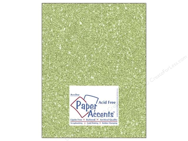 Cardstock 8 1/2 x 11 in. #5111 Glitz Silver/Margarita by Paper Accents (25 sheets)