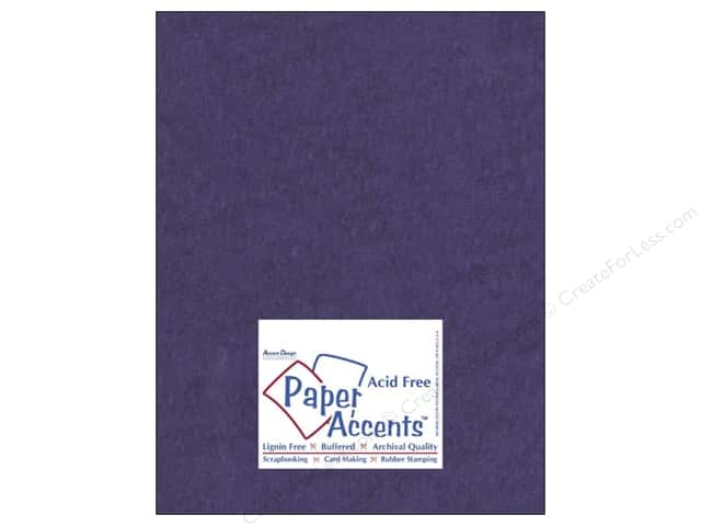 Paper Accents Cardstock 8 1/2 x 11 in. #8088 Muslin Grape Slushie (25 sheets)