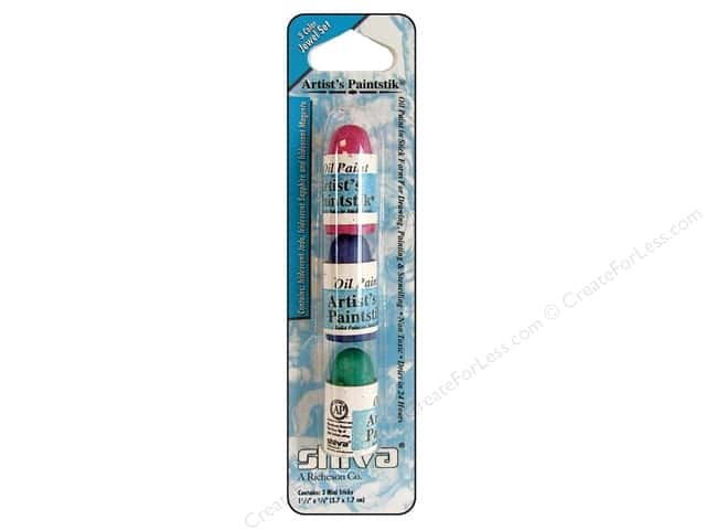 Shiva Artist's Paintstik Mini Set 3 pc. Jewel