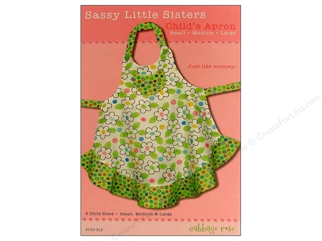 Cabbage Rose Sassy Little Sisters Pattern