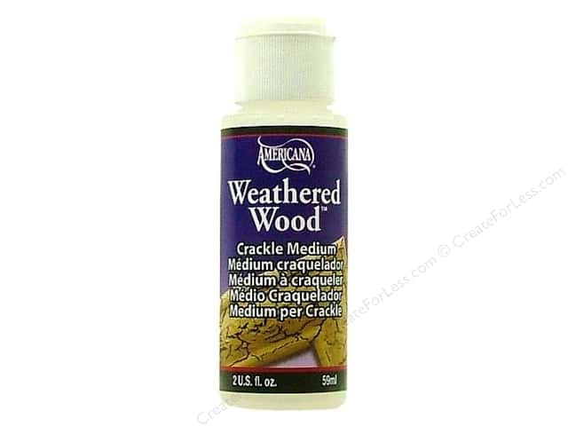 DecoArt Medium Weathered Wood Crackling 2oz
