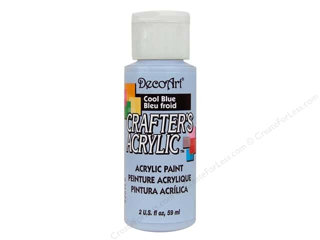 DecoArt Crafter's Acrylic Paint 2 oz. #76 Cool Blue