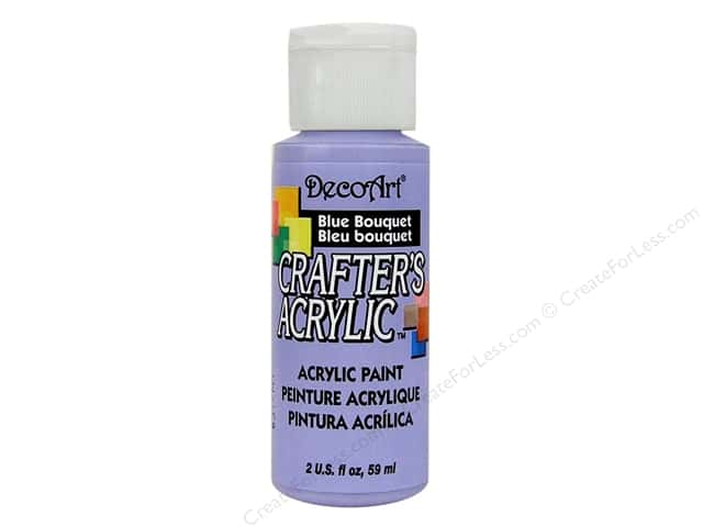 DecoArt Crafter's Acrylic Paint 2 oz. #77 Blue Bouquet