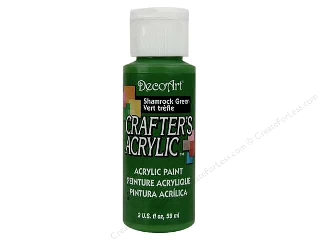 DecoArt Crafter's Acrylic Paint 2 oz. #84 Shamrock Green