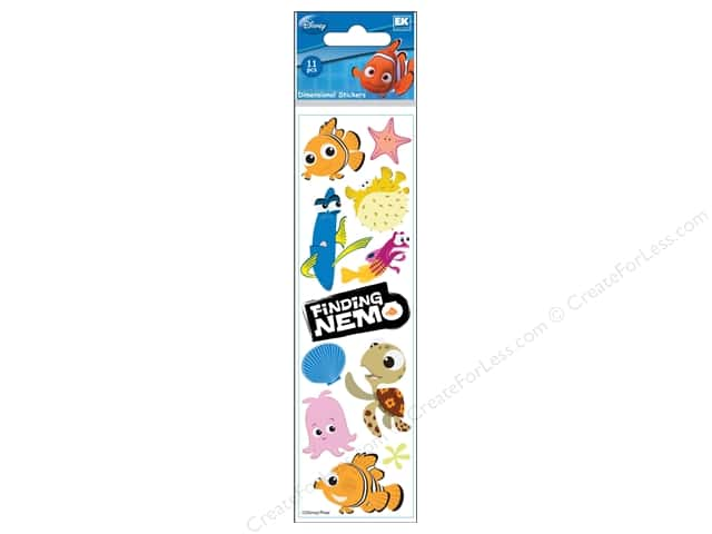 EK Disney Dimensional Stickers Slim Finding Nemo