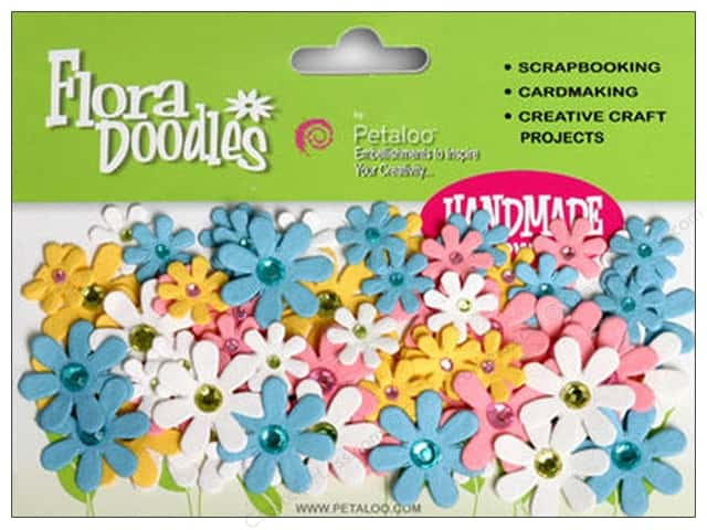 Petaloo FloraDoodles Jeweled Florettes Baby's Coming
