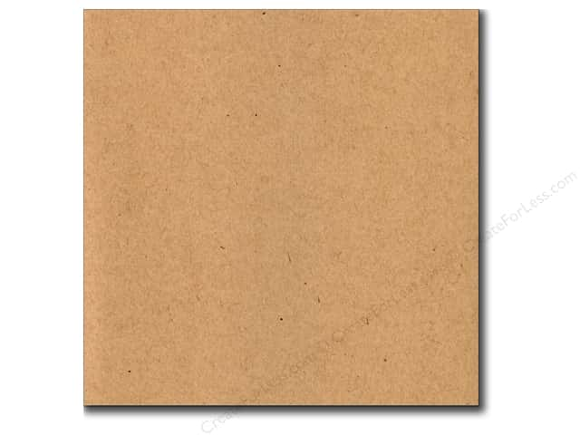 Bazzill 12 x 12 in. Cardstock Classic Kraft (25 sheets)