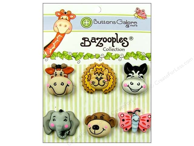 Buttons Galore Theme Buttons BaZooples Gertrude & Friends
