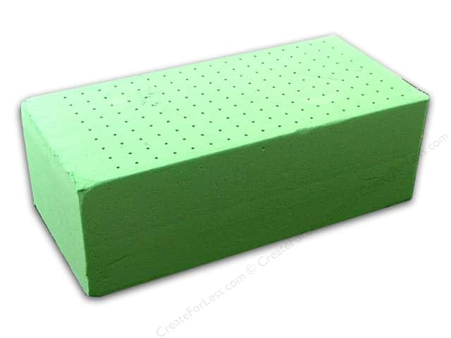 FloraCraft Wet Foam Floral Brick 3 x 4 x 9 in. (48 pieces)