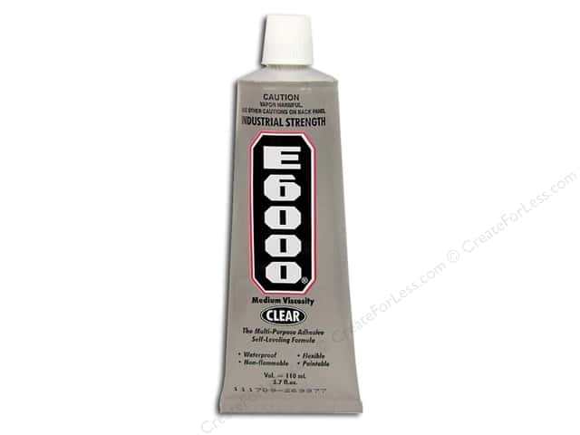 Eclectic Adhesive E6000 3.7oz Tube