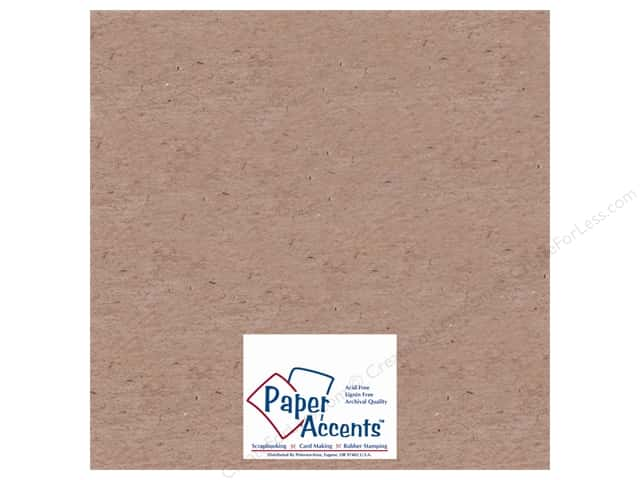Paper Accents Chipboard 12 x 12 in. 52 pt. Extra Heavy Natural (25 sheets)