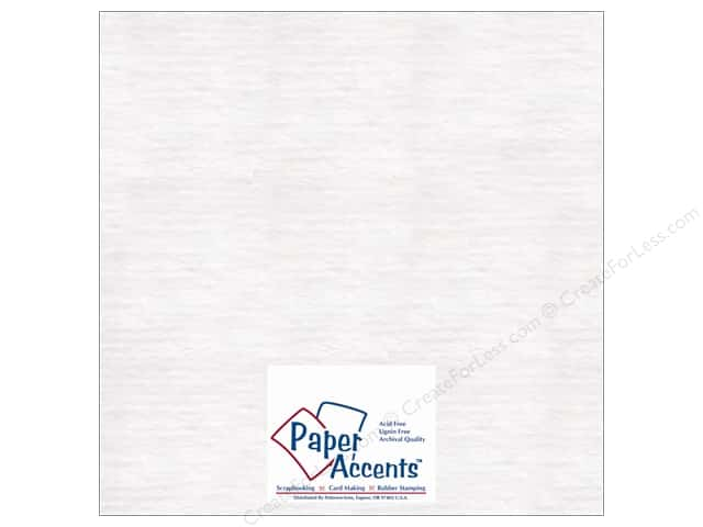 Paper Accents Chipboard 12 x 12 in. 50 pt. Extra Heavy White (25 sheets)