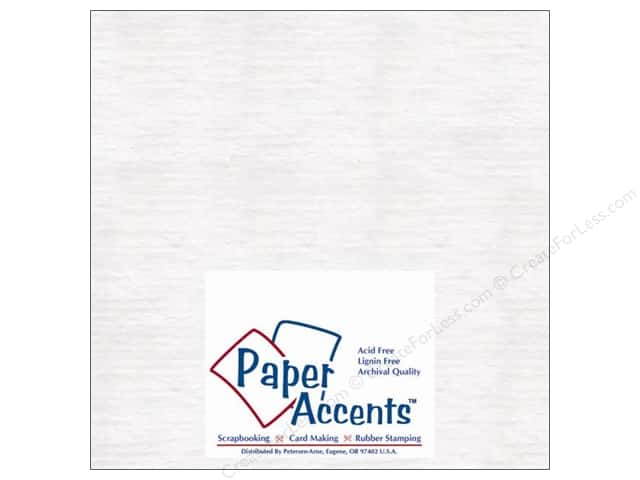 Paper Accents Chipboard 4 x 4 in. 50 pt. Extra Heavy White (25 sheets)