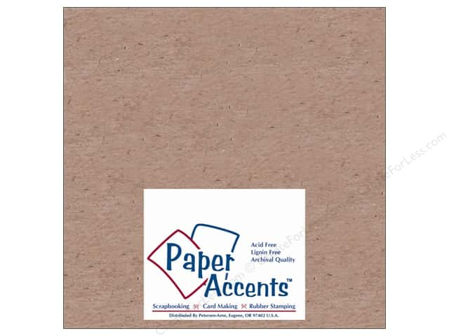 Paper Accents Chipboard 8 x 8 in. 52 pt. Extra Heavy Natural (25 sheets)
