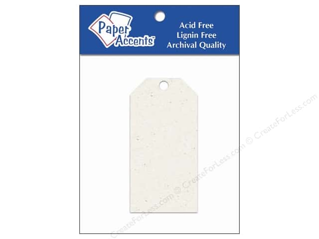 Craft Tags by Paper Accents 1 5/8 x 3 1/4 in. 25 pc. Birch