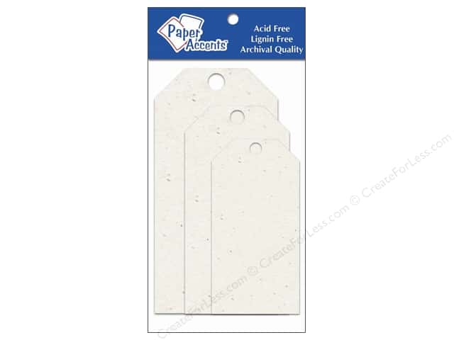Craft Tags by Paper Accents Assorted 25 pc. Birch