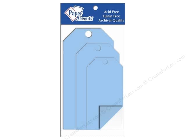 Craft Tags by Paper Accents Assorted 5 pc. Clear Plastic