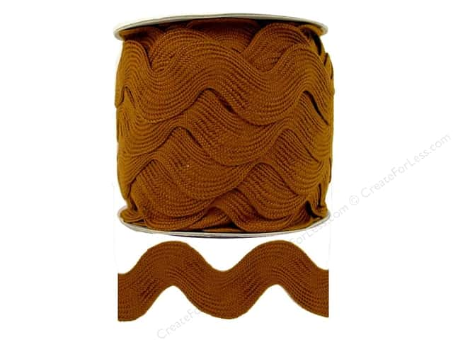 Jumbo Ric Rac by Cheep Trims  1 13/32 in. Chestnut (24 yards)