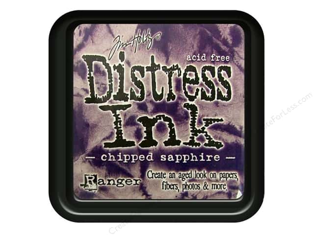Tim Holtz Distress Ink Pad by Ranger Chipped Sapphire