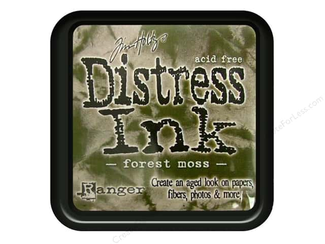 Tim Holtz Distress Ink Pad by Ranger Forest Moss