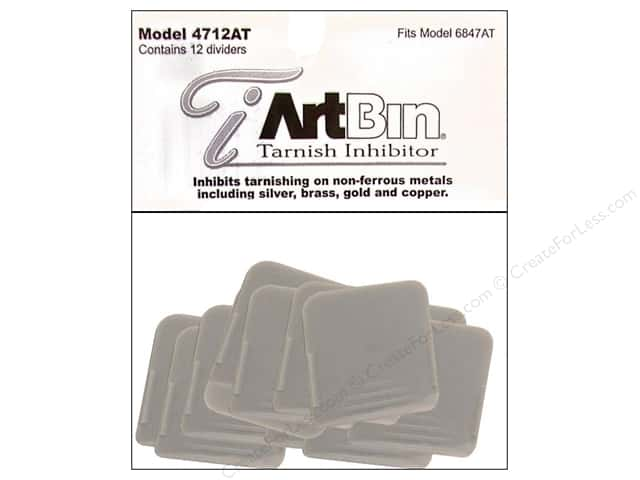 ArtBin Tarnish Inhibitor Divider Pack 12 pc. Medium