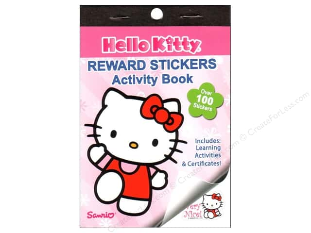 Bendon Reward Stickers Book Hello Kitty