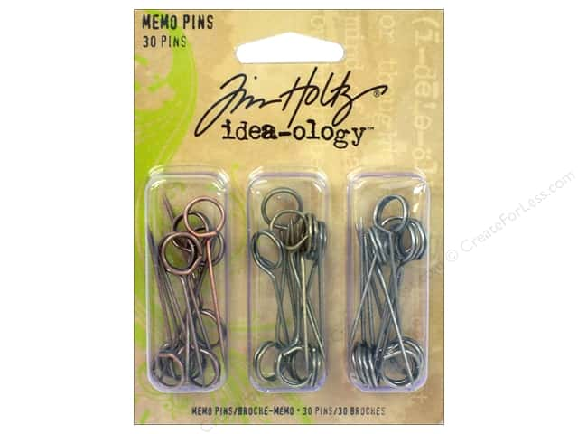 Tim Holtz Idea-ology Memo Pins 30pc
