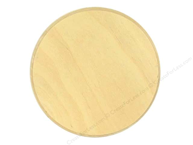 Walnut Hollow Birch Value Plaque 6 1/4 in. Circle
