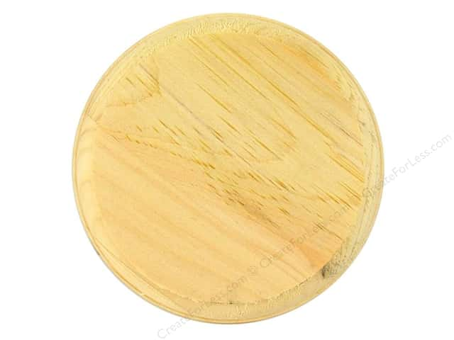 Walnut Hollow Pine Plaque 4 in. Circle